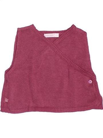 Pull fille OKAIDI violet 12 mois hiver #1522065_1