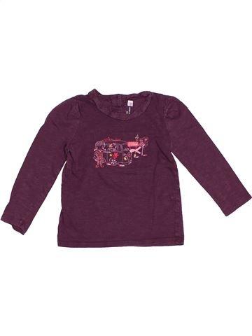 T-shirt manches longues fille SERGENT MAJOR violet 3 ans hiver #1522510_1