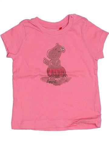 T-shirt manches courtes fille ESPRIT rose 3 mois été #1522767_1