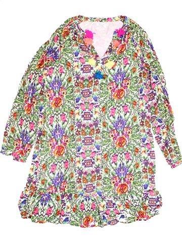Robe fille MONOPRIX rose 14 ans hiver #1523049_1