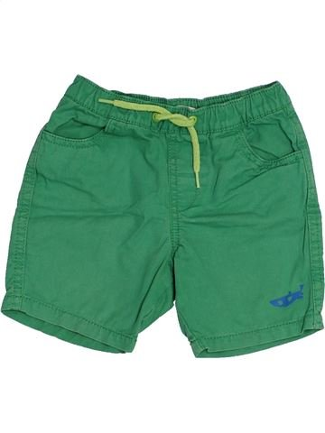 Short - Bermuda garçon DPAM vert 2 ans été #1523214_1
