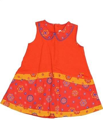 Robe fille KENZO orange 18 mois été #1523280_1