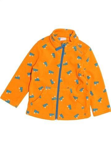 Gilet garçon QUECHUA orange 2 ans hiver #1523369_1