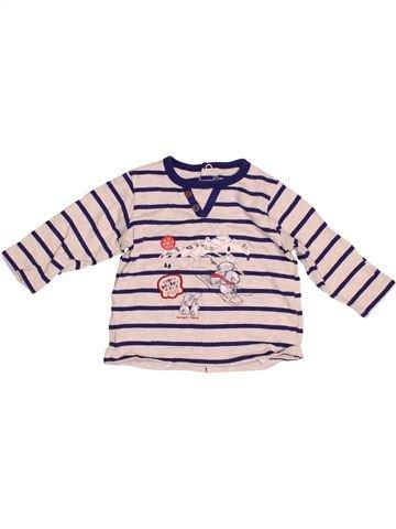 T-shirt manches longues garçon SERGENT MAJOR blanc 6 mois hiver #1523647_1
