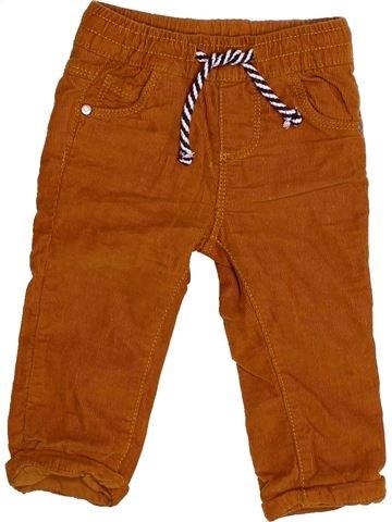 Pantalon garçon TAPE À L'OEIL marron 6 mois hiver #1523712_1