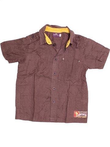 Chemise manches courtes garçon SERGENT MAJOR violet 5 ans été #1523747_1
