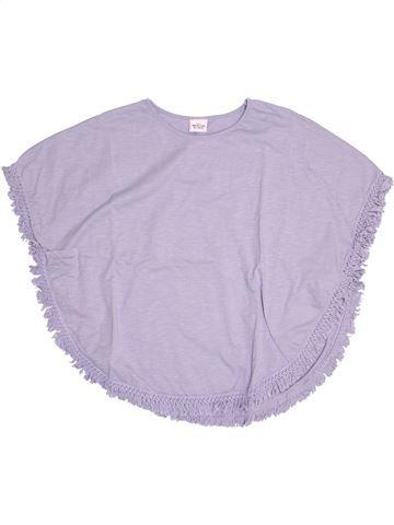 T-shirt manches courtes fille TAPE À L'OEIL violet 10 ans été #1524099_1