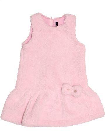 Vestido niña LILI GAUFRETTE rosa 3 años invierno #1524648_1