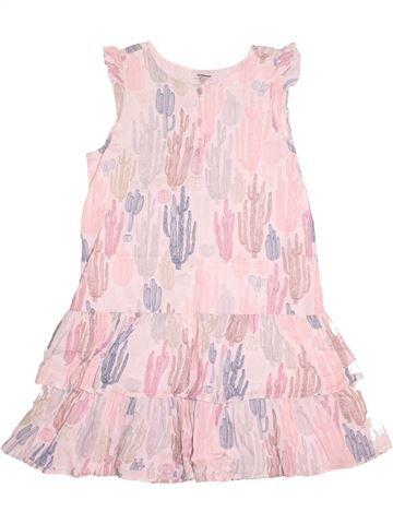 Vestido niña 3 POMMES rosa 10 años verano #1524680_1