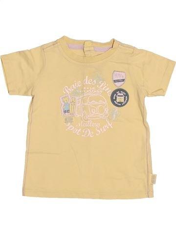 T-shirt manches courtes garçon SERGENT MAJOR beige 18 mois été #1524896_1