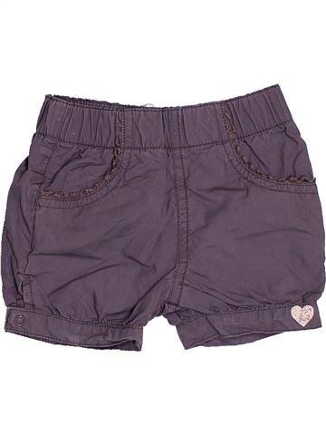 Short-Bermudas niña 3 POMMES gris 6 meses verano #1525327_1
