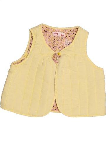 Gilet fille DPAM beige 12 mois hiver #1525332_1