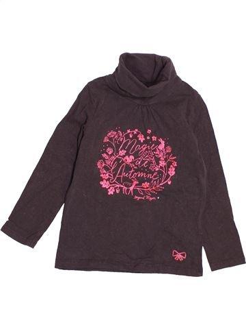 T-shirt col roulé fille SERGENT MAJOR marron 4 ans hiver #1525427_1