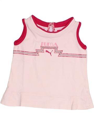 Camiseta sin mangas niña PUMA blanco 3 años verano #1525635_1