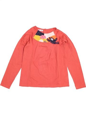 T-shirt manches longues fille DPAM rose 8 ans hiver #1525961_1