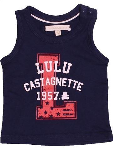 Débardeur garçon LULU CASTAGNETTE bleu 3 mois été #1526256_1