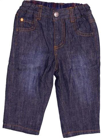 Pantalon garçon CADET ROUSSELLE bleu 6 mois hiver #1526270_1
