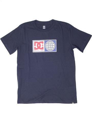 T-shirt manches courtes garçon DC SHOES bleu 14 ans été #1526415_1