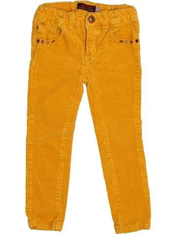 Pantalón niña CATIMINI naranja 2 años invierno #1526473_1