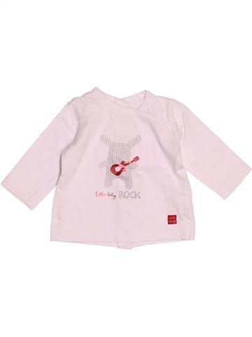 T-shirt manches longues unisexe SUCRE D'ORGE rose 3 mois hiver #1526530_1