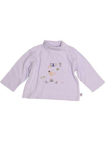 T-shirt col roulé garçon CADET ROUSSELLE blanc 6 mois hiver #1526930_1