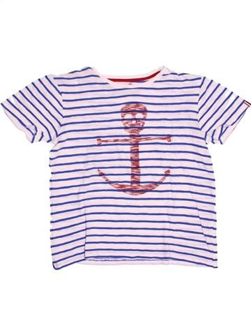 T-shirt manches courtes fille LITTLE MARCEL blanc 12 ans été #1527123_1