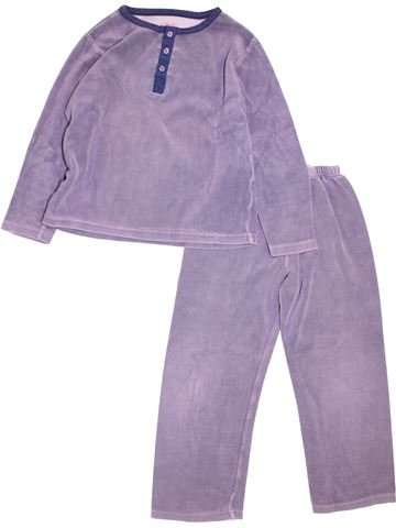 Pyjama 2 pièces garçon CFK violet 6 ans hiver #1527857_1
