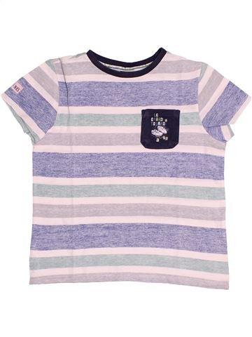 T-shirt manches courtes garçon SERGENT MAJOR blanc 8 ans été #1528018_1