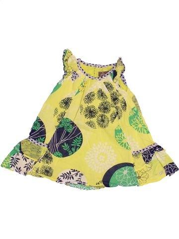 Vestido niña JEAN BOURGET verde 12 meses verano #1528090_1