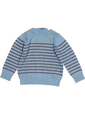 Pull garçon KIABI bleu 5 ans hiver #1528285_1