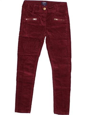 Pantalon fille KIABI violet 5 ans hiver #1528384_1