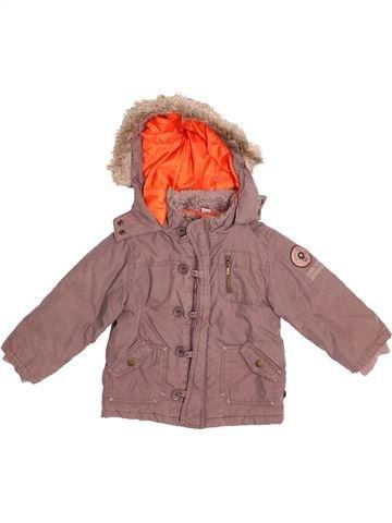 Manteau garçon OKAIDI marron 2 ans hiver #1528647_1