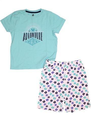 Pyjama 2 pièces garçon GENERATION Z bleu 8 ans été #1528793_1