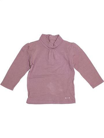 T-shirt col roulé fille KIABI violet 3 ans hiver #1529764_1