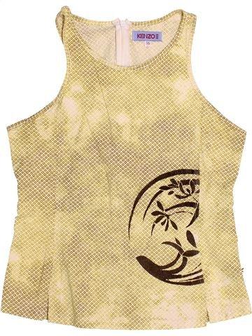 T-shirt sans manches fille KENZO beige 16 ans été #1529806_1