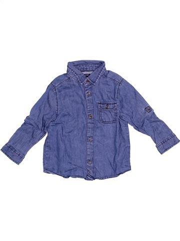 Chemise manches longues garçon KIABI violet 2 ans hiver #1529883_1