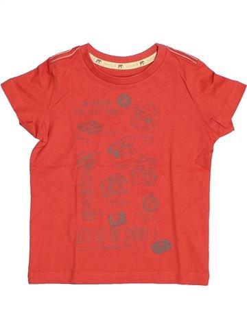 T-shirt manches courtes garçon SERGENT MAJOR rouge 3 ans été #1529982_1