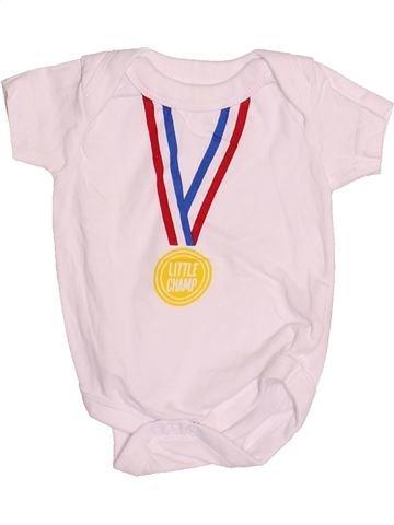 T-shirt manches courtes garçon PEP&CO rose naissance été #1530288_1