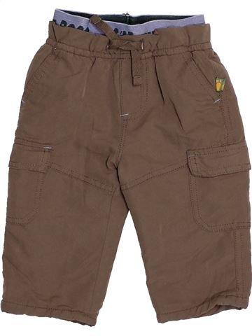 Pantalon garçon BABY marron 6 mois hiver #1530600_1