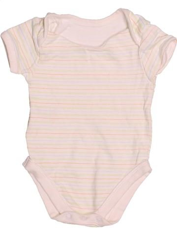 Camiseta de manga corta niño SANS MARQUE rosa 3 meses verano #1530657_1