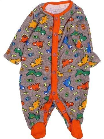 Pijama de 1 pieza niño PEP&CO marrón 1 mes verano #1531280_1