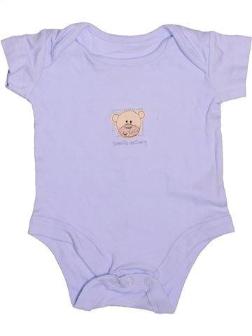 T-shirt manches courtes garçon MINI MODE gris 3 mois été #1531601_1