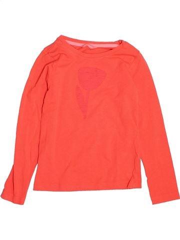 Camiseta de manga larga niña HEMA rojo 6 años invierno #1532850_1