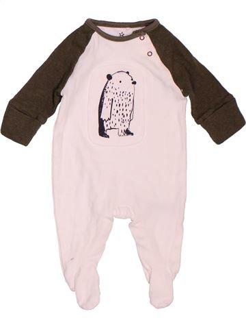 Pyjama 1 pièce garçon NEXT blanc naissance été #1533092_1