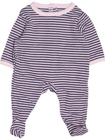 Pyjama 1 pièce garçon VERTBAUDET blanc naissance été #1533102_1