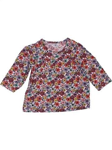 Camiseta de manga larga niña NUTMEG violeta 6 meses invierno #1533634_1