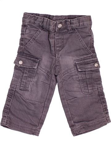 Pantalon garçon TAPE À L'OEIL gris 9 mois hiver #1534792_1