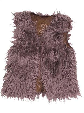 Gilet fille IKKS violet 5 ans hiver #1535519_1