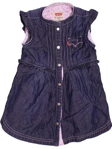 Vestido niña LEVI'S azul 9 meses verano #1535931_1
