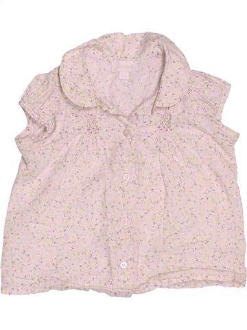 Blusa de manga corta niña JACADI violeta 18 meses verano #1535942_1